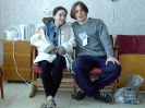 На мастерских: Ольга и Собака Страшная