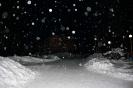 Над «Гайдаром» снежная ночь